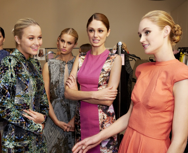 Patterns and colours with Madison and Foxtel Project Runway Australia @ 30 Days of Fashion and Beauty