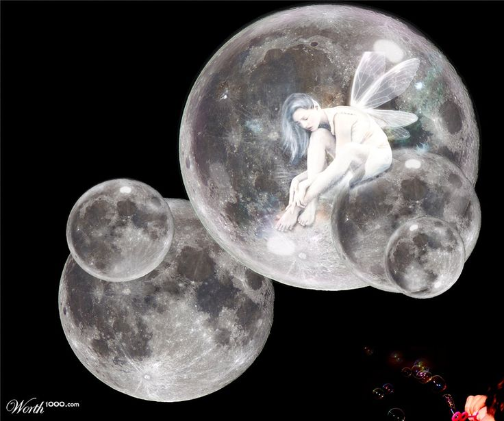 Bubbles to moon - Worth1000 Contests