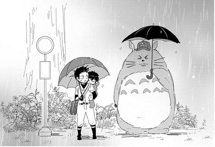 Daiya no Ace | Ace of Diamond | Путь аса bw my neighbour totoro crossover haha so cute