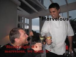 Adam Mason and Peter Tempelhoff from Marvelous wines