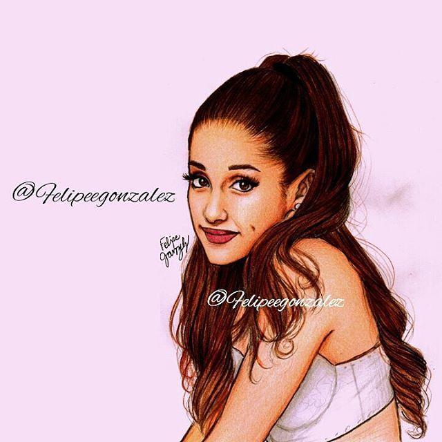 Ariana Grande Christmas Wallpaper: 98 Best ART Images On Pinterest