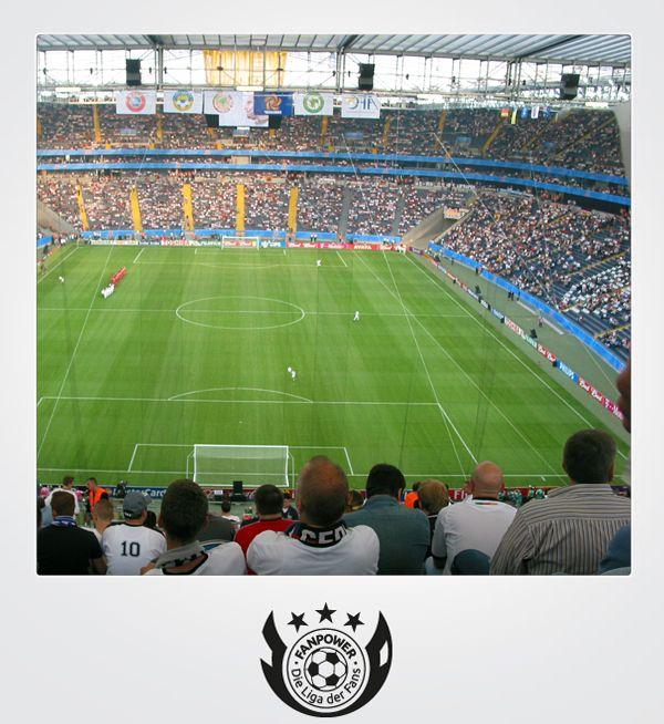 ber ideen zu eintracht frankfurt stadion auf. Black Bedroom Furniture Sets. Home Design Ideas