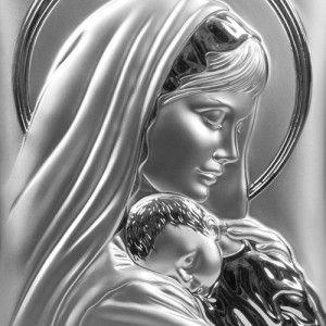 AnKa Biżuteria -srebrny obrazek- Ślub , Chrzest