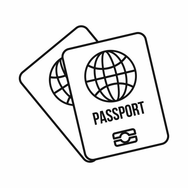 Two Passports Icon Outline Style Passport Clipart Style Icons Outline Icons Png And Vector With Transparent Background For Free Download In 2021 Clip Art Free Vector Graphics Cartoon Styles