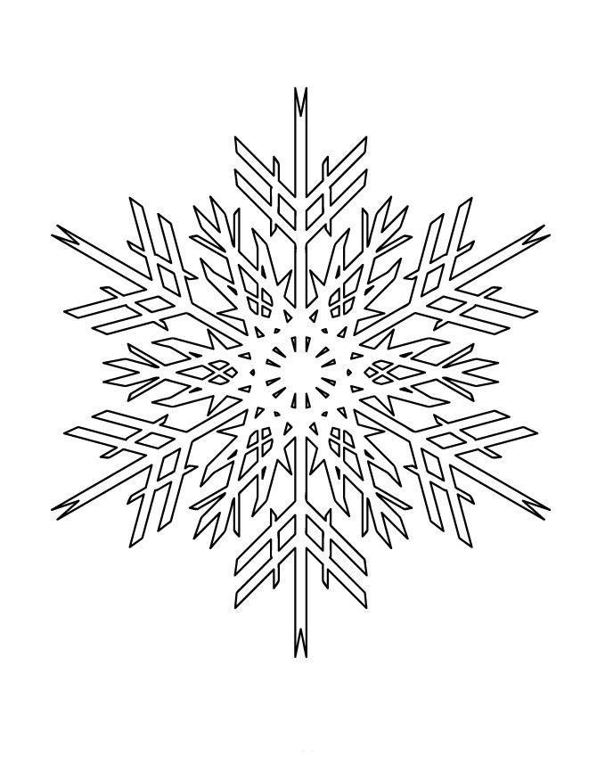 картинки новогодних снежинок для вырезания постепенно