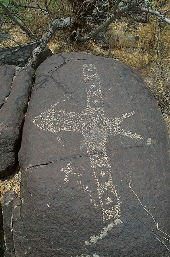 Petroglyph from New Mexico