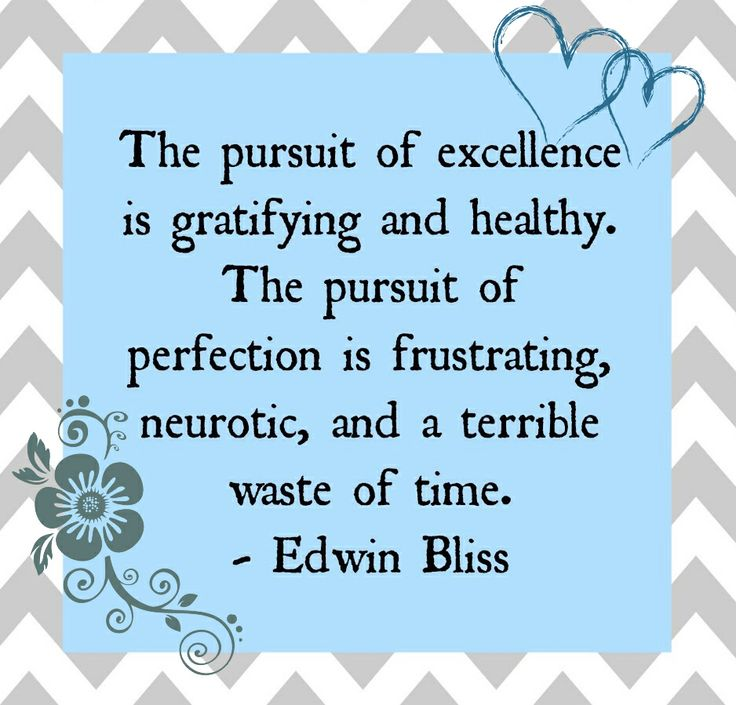 Be a person of #excellence!