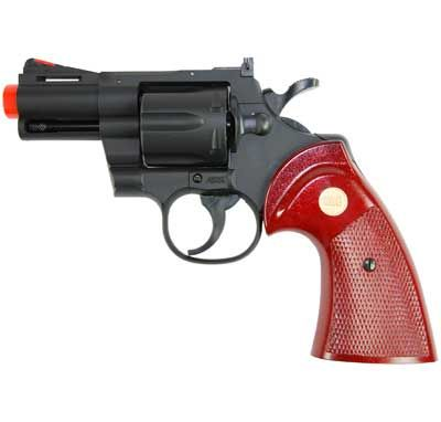 """TSD / UHC Airsoft Revolver - 2.5"""" Snub Nose Barrel, Airsoft Guns, Revolvers - Evike.com Airsoft Superstore"""