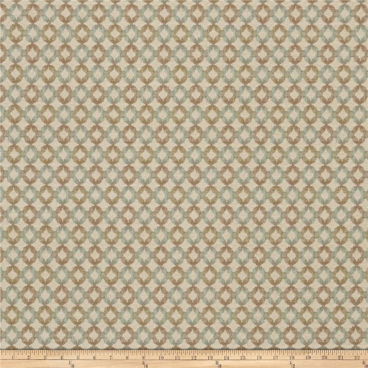 Fabricut Ridgefield Chenille Sky from @fabricdotcom This lovely chenille fabric is perfect for valences, toss pillows, and upholstery projects like ottomans and headboards.