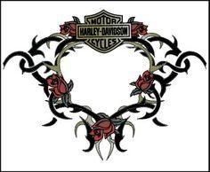 Harley Davidson Tattoo Idea