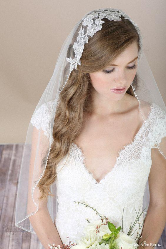Exquisito peinados para bodas invitadas pelo suelto Fotos de cortes de pelo Consejos - 15 peinados de cabello suelto para novias   Peinados pelo ...