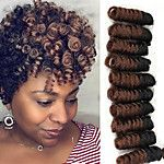 Crochet Bouncy Curl Twist Braids Bouncy Curl Hair Extensions Kanekalon afro kinky curly Hair Braids marley braiding 2017 - $7.99