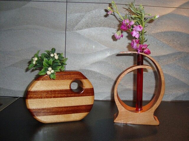 Wood Vases 2