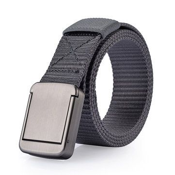 118CM Mens Women Nylon Alloy Buckle Belt Outdoor Casual Military Tactical Durable Pants Strips at Banggood