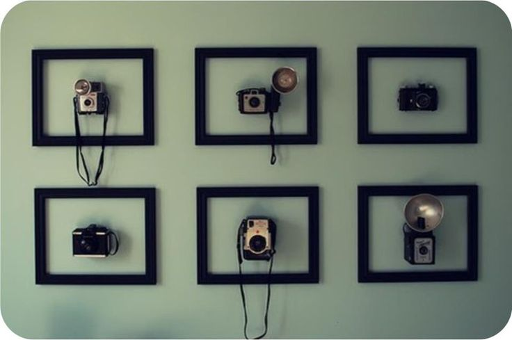 Cool way to display my old cameras!