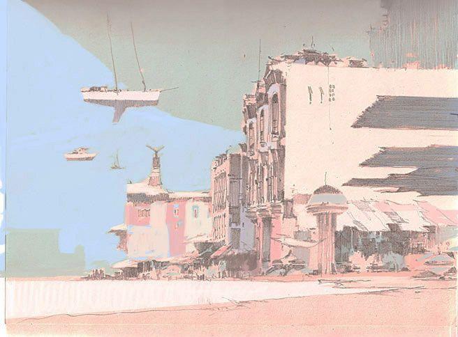 Art by Theo Prins - Drawings
