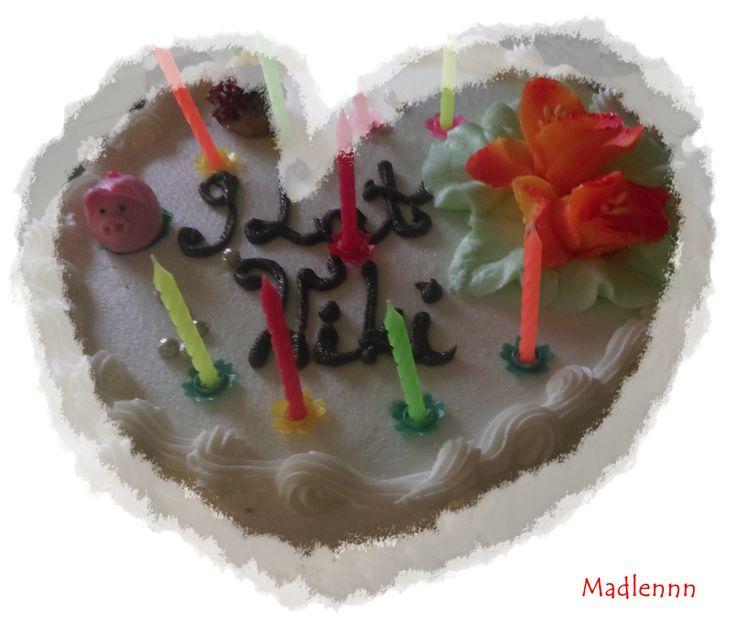 Tort śmietankowy, brithday cake