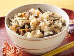 「ジューシー(沖縄風炊き込みご飯)」の料理レシピ/完成イメージ