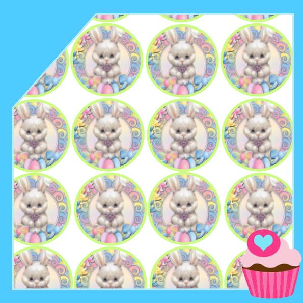 Edible Cake Toppers - Easter cupcakes - Bunny T3, $4.50 (http://www.ediblecaketoppers.com.au/easter-cupcakes-bunny-t3/)