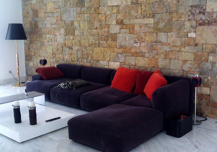 Terra Coral Marble Wall. Kallimarmaron Bolari | Greek Marble Company | Marble exports