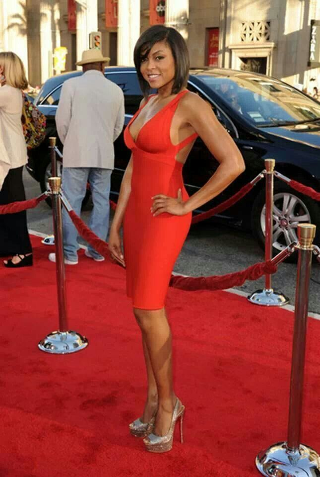 Taraji P. Henson, Washington, DC Native is an amazing actress!  She is silly, beautiful, & smart. Her style & talent is always on point!