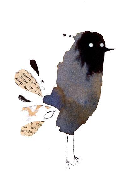 Strange Bird. Adolfo Serra
