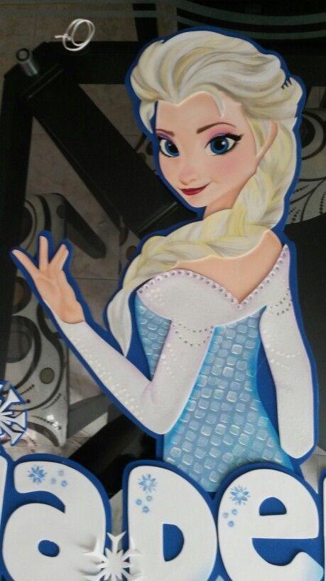 Frozen Elsa En Foami