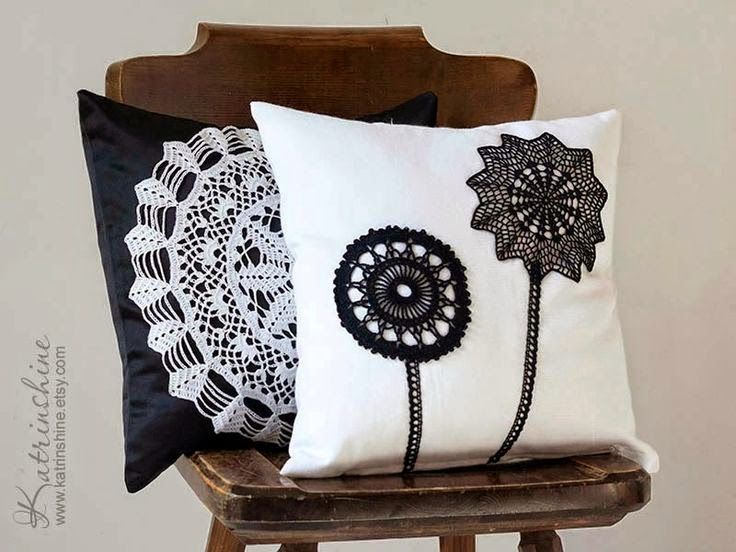 Almofadas de crochê para inspirar e decorar - Jeito de Casa