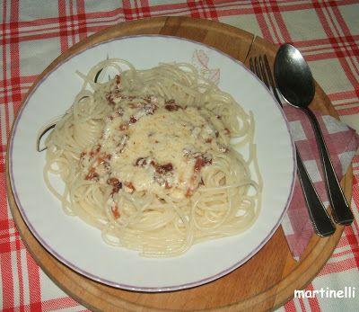 Spaghetti alla carbonara kicsit, másképp