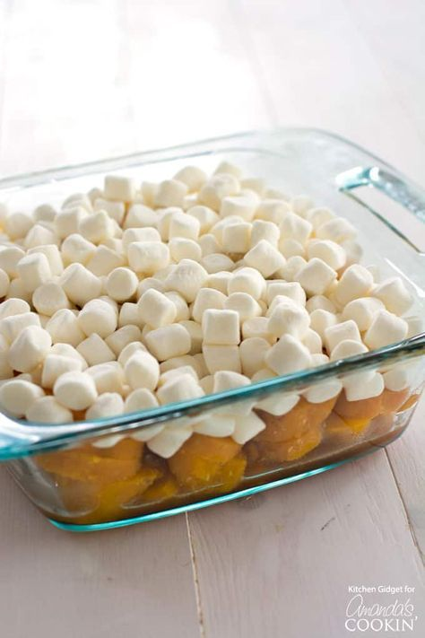 These Candied Yams With Or Without Marshmallows Are A Must For