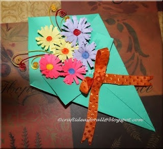 Cute mother's day craft kids can make. Follow our blog for this tutorial and many more.,