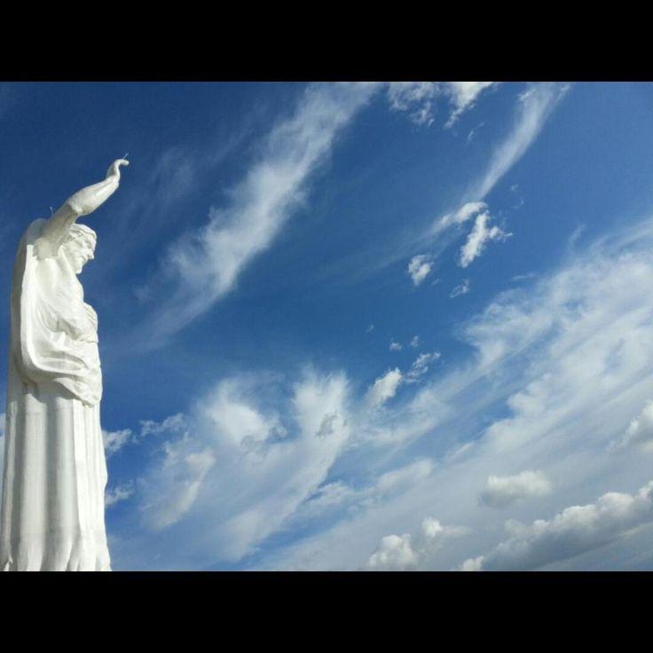 El Ecoparque Cerro del Santísimo Floridablanca Santander  @VisitaSantander Foto Mauricio Gallo