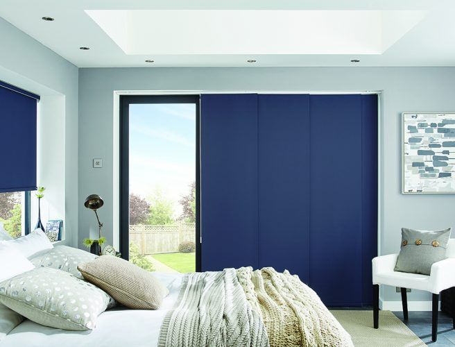 Window Dividing  Rooms Blind