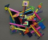 Wood Sculpture/Did this with 3rd grade a couple of years ago. They were awesome!