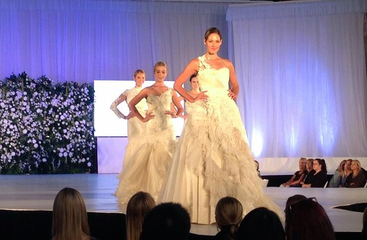 Cant wait to see these Aldo Terlato Couture gowns hit the #UltimateBridalEvent catwalk again TODAY! Come on down to the Royal Exhibition Building in Carlton Gardens to see all the magic first hand!!