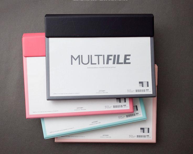 Multi Document File Holder