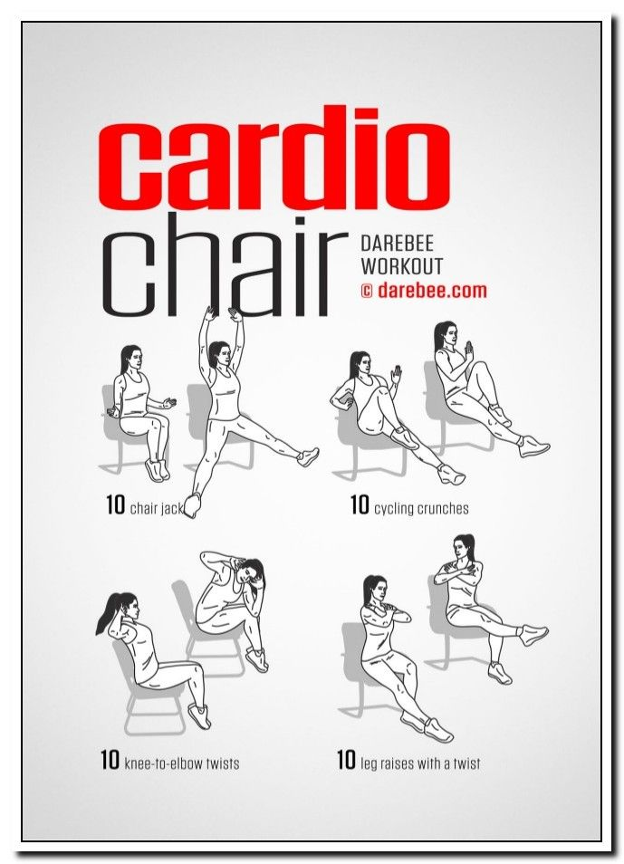 129 Reference Of Chair Ab Exercises Work In 2020 Cardio Workout At Home Cardio Chair Exercises