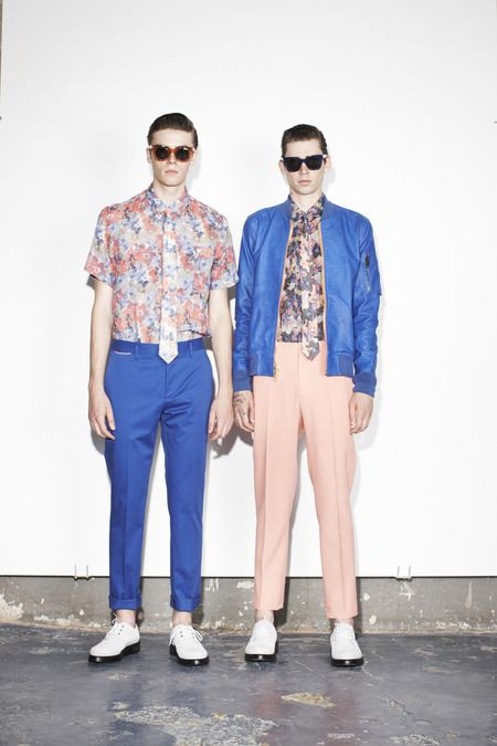 Marc Jacobs Spring 2014 Menswear Collection Slideshow on Style.com