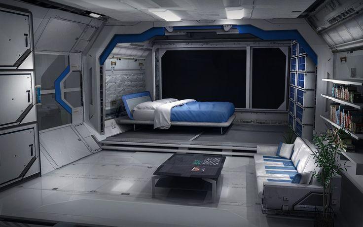 sci fi bedroom concepts - Google Search