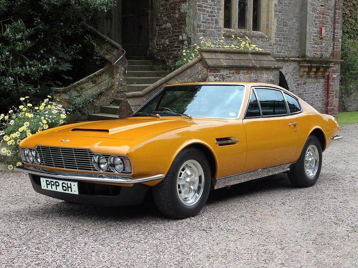 Aston Martin DBS V8, Brett Sinclair's car, the 1/32 Entex is going this way