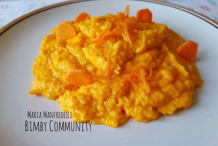 Purè di Carote, non il solito purè, ma ugualmente delizioso e molto cremoso, con un acceso colore arancione dato dalle carote.