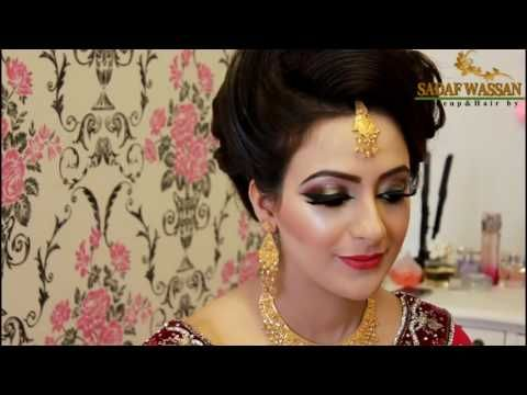 Asian Bridal Makeover /Pakistani Bridal Makeup - YouTube