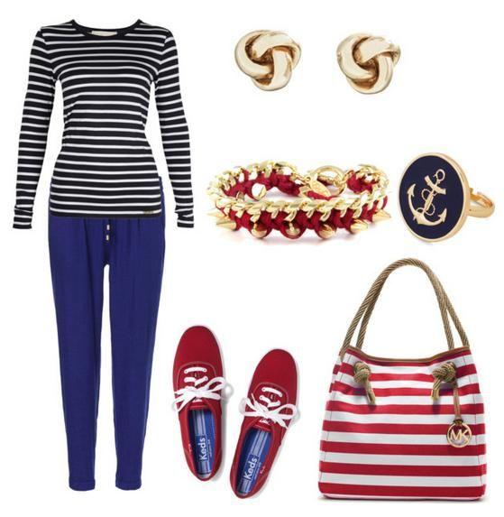 Морской стиль в одежде – правила создания! Учимся создавать стильный летний гардероб для отпуска и работы!
