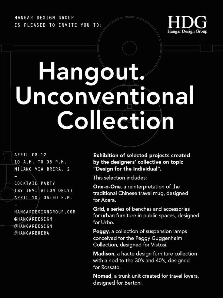 Hangar Design Group for Rossato : Madison Collection at Via Brera, 2 Milano April 8-12