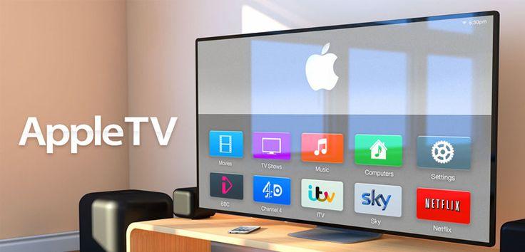 Nueva patente muestra sistema para controlar la Apple TV por gestos - http://www.actualidadiphone.com/patente-sistema-apple-tv-gestos/