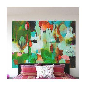 GreenBox Art Chrysalis Wall Mural | AllModern