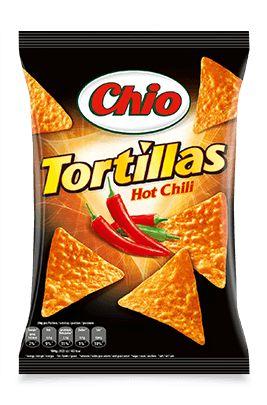 Tortillas Hot Chili Packshot