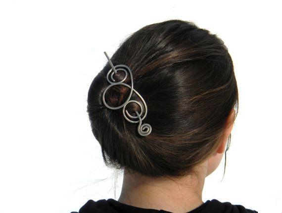 Fermacapelli accessori per capelli Meatal Haie di ElizabellaDesign