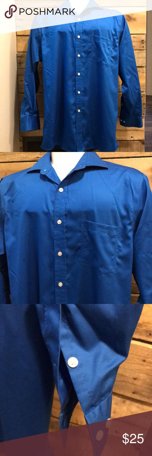 Michael KORS button up non iron shirt 👔 Non iron! Line new! Bold color. Size large (16 1/2   32/33). Machine wash and dry. MICHAEL Michael Kors Shirts Dress Shirts