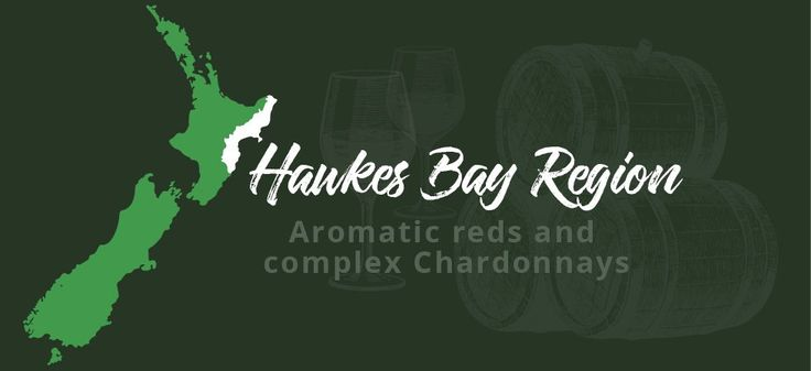An idea of where in New Zealand you'll find the Hawkes Bay wine region.